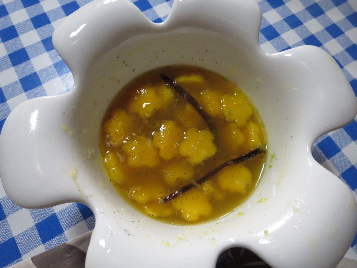 Nage de mangue