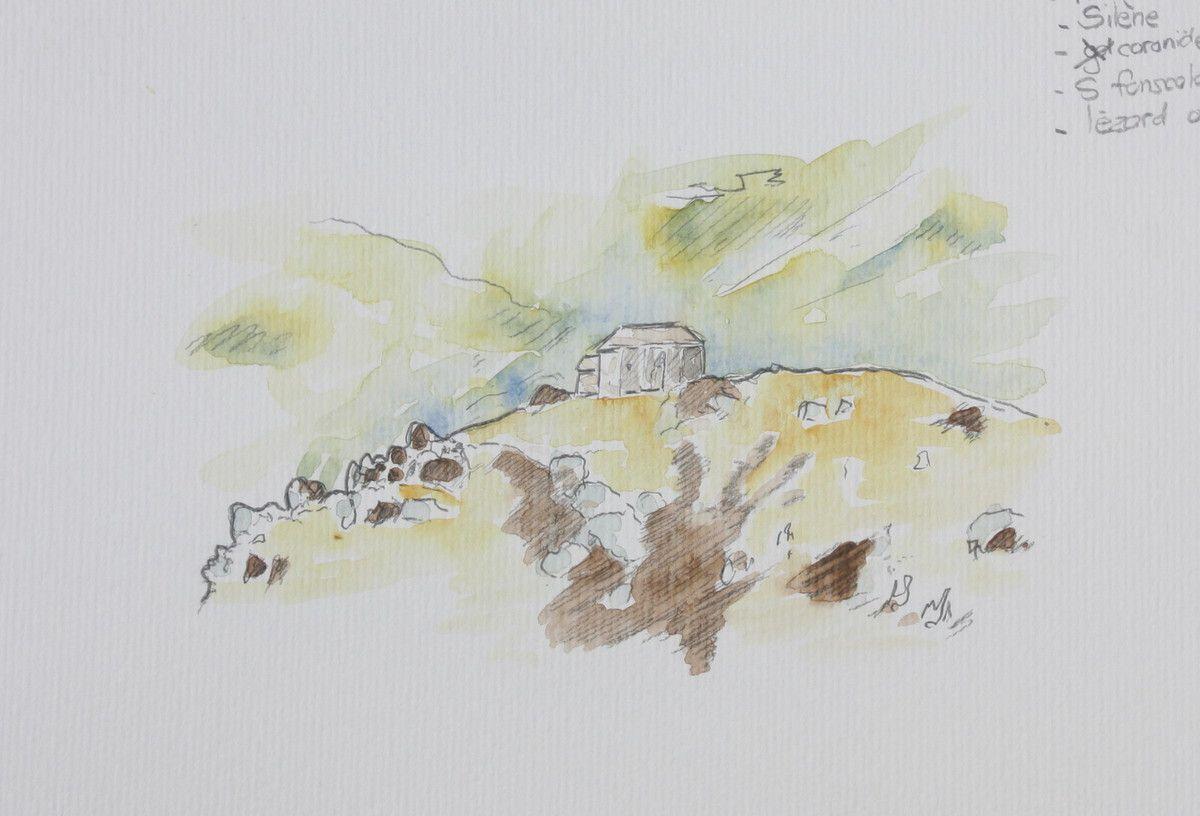 La Garde Guérin. Superbe petit village médiéval qui domine les gorges du Chassezac.