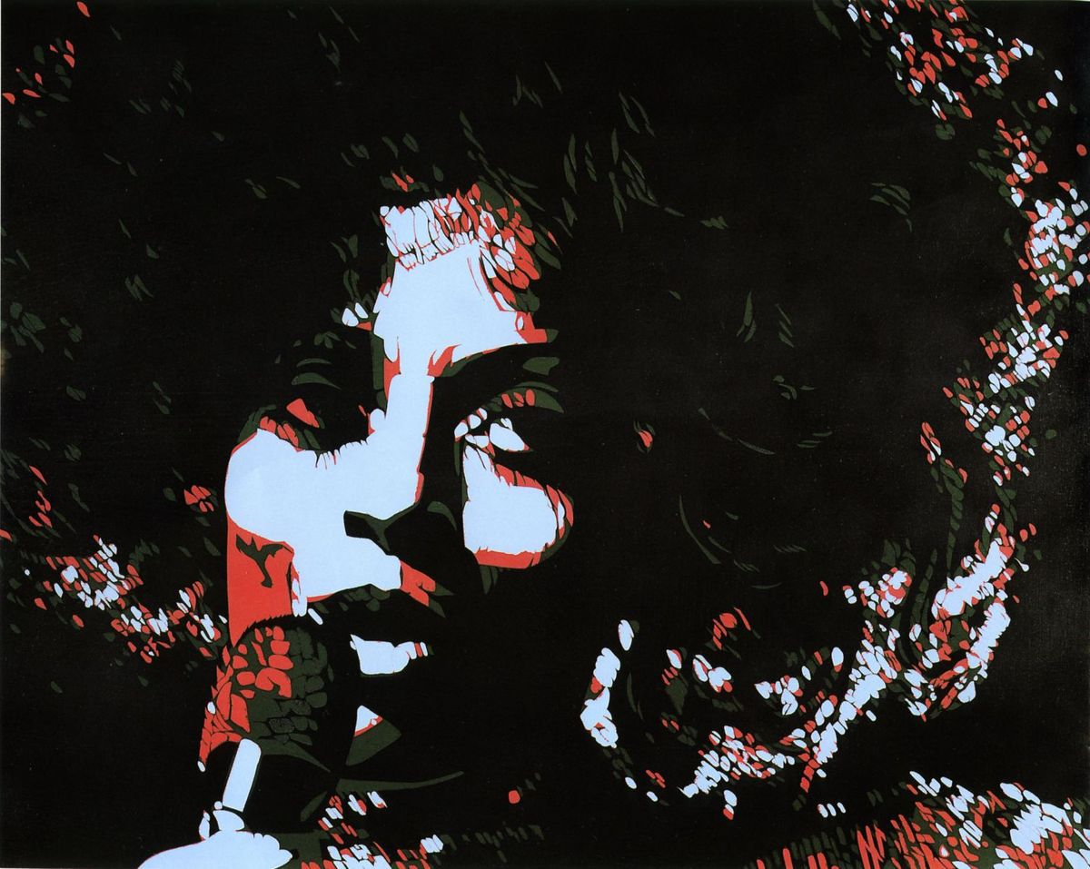 Diana Ross par Rancillac (1974), une exposition gratuite du Musée de la Poste au siège du PC, espace Niemeyer place Colonel Fabien