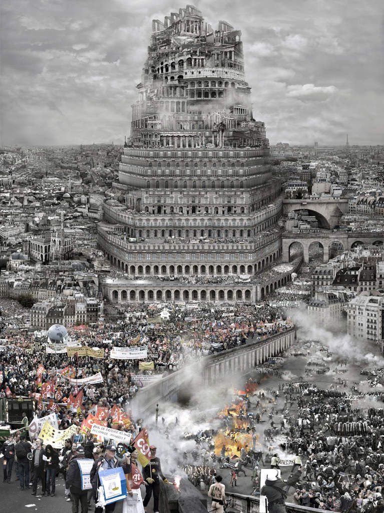 "Du Zhenjun ""the tower of Babel"" old Europe 2010"