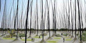 « Windstalk », ou comment produire de l'électricité avec des roseaux géants
