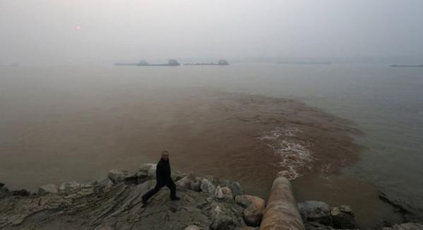 A voir, pour une prise de conscience! Pollution : 33 photos qui montrent la situation en Chine