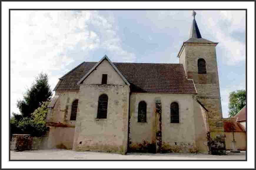 Eglise de Salans - photo mcp