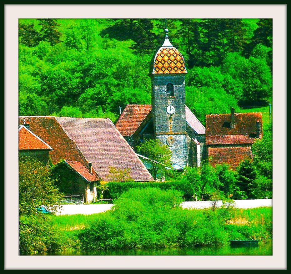 Eglise Saint-Pierre - Hyèvre-Paroisse - Doubs