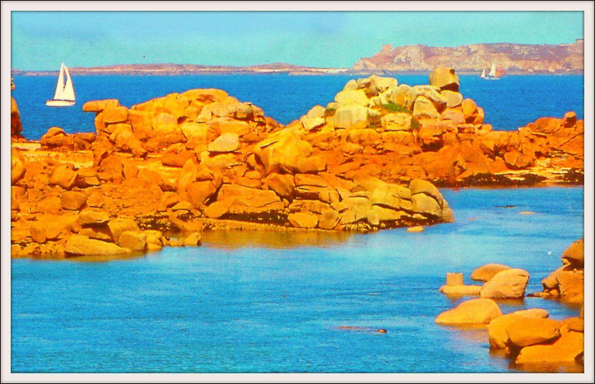 Les rochers de Ploumana'ch - Côtes d'Armor
