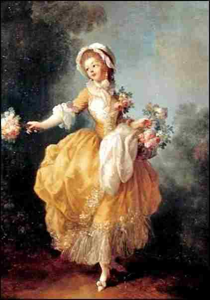 Danseuse au bouquet