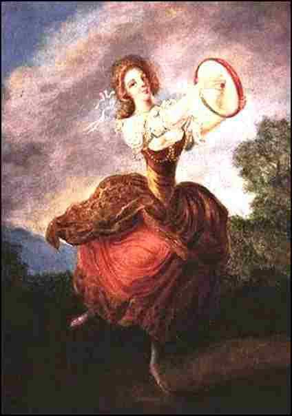 Danseuse au tambourin