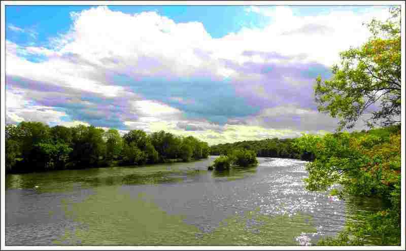 Le Doubs - Salans - jura