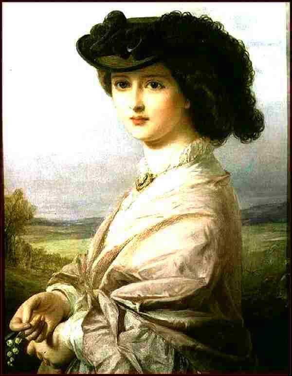 Femme au brin de muguet