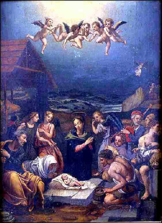 Cristofano Allori (1577-1621) Nativité
