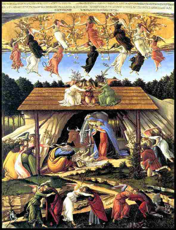 Sandro Botticelli ( 1445-1510 ) - Nativité