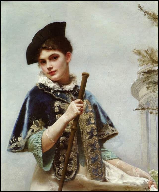 Portrait d'une noble dame