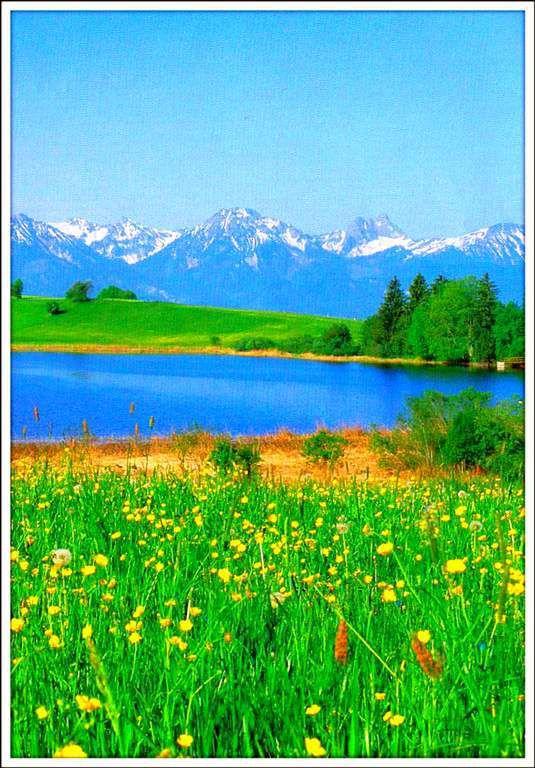 Les Alpes - Bavière