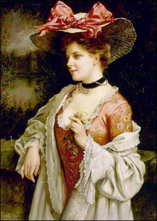 Dames chapeautées... Ob_802499_kavel-francois-martin-le-chapeau-au-r