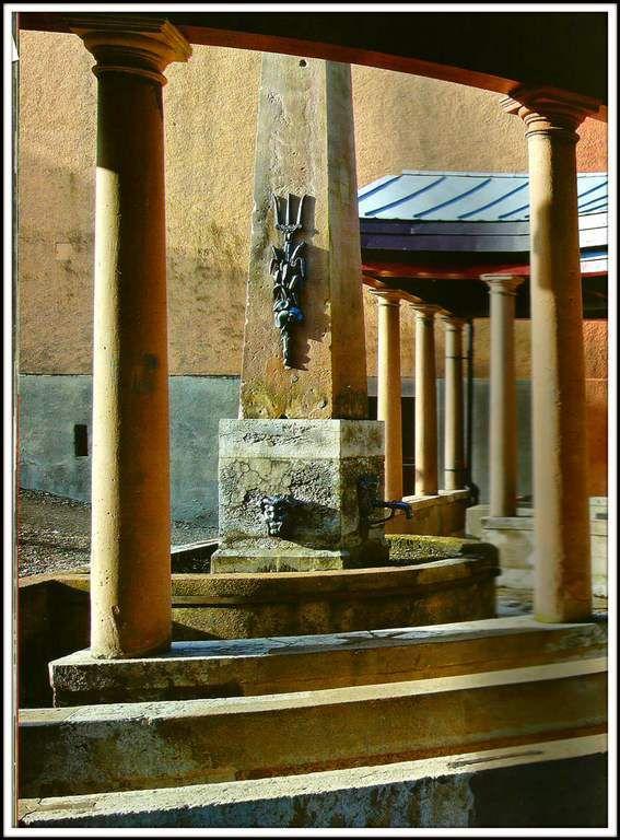 Fontaine-lavoir du Savourot - Héricourt
