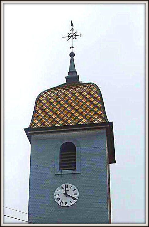 clocher - Ferrrière-Les-Bois - Doubs