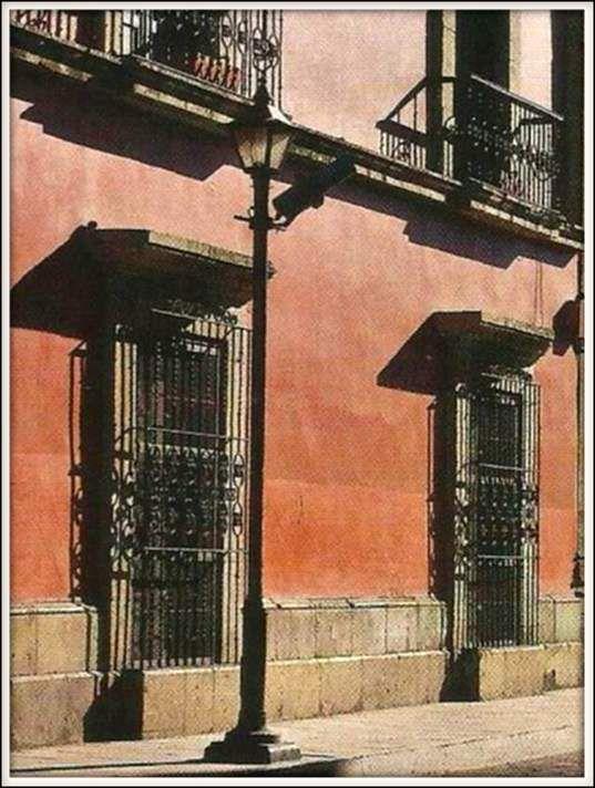 Réverbère - Oaxaca - Mexique