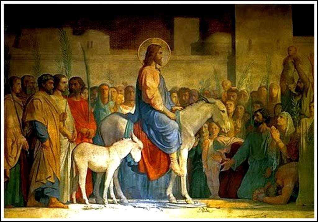 Hippolyte Flandrin (1809-1864) Entrée du Crhist à Jérusalem - Les Rameaux