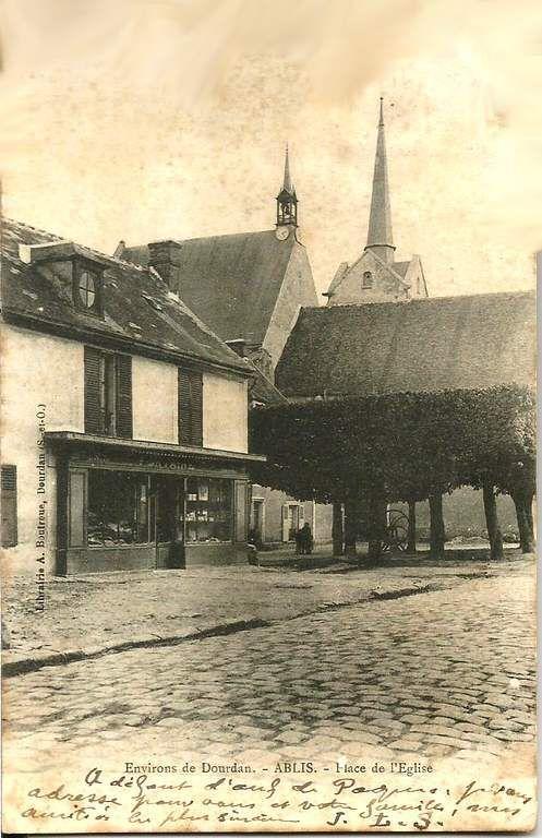 Ablis - Yvelines - carte postale 1904