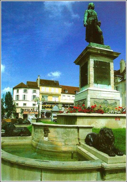 Fontaine du Général Lecourbe - Lons Le Saunier - Jura