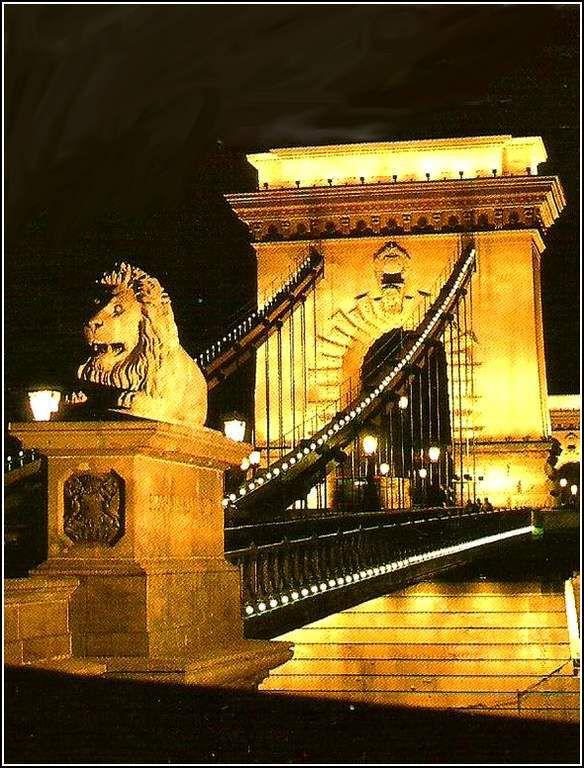 Budapest - Hongrie - chain bridge