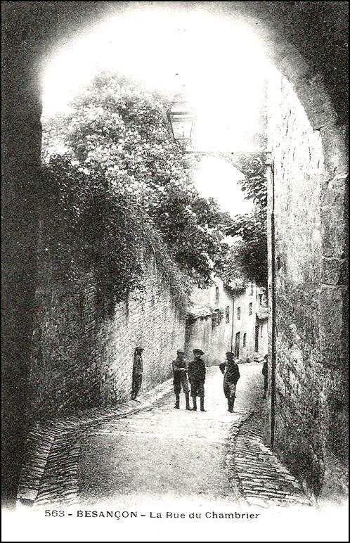 Besançon - Doubs - Les années 1900