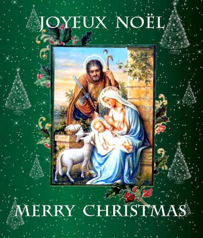 Gifs - cartes de Noël