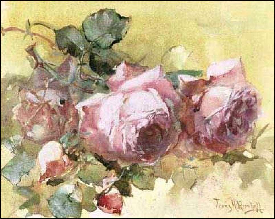 Les fleurs par les grands peintres