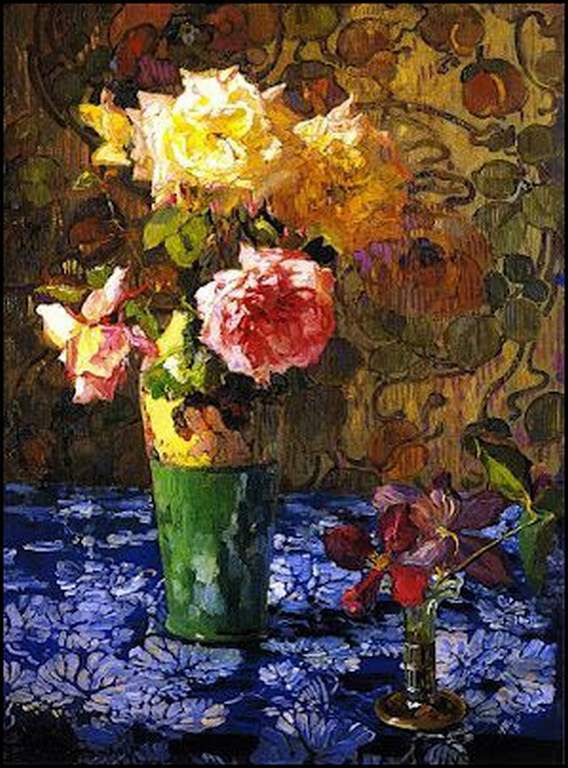 Les fleurs par les grands peintres (2)