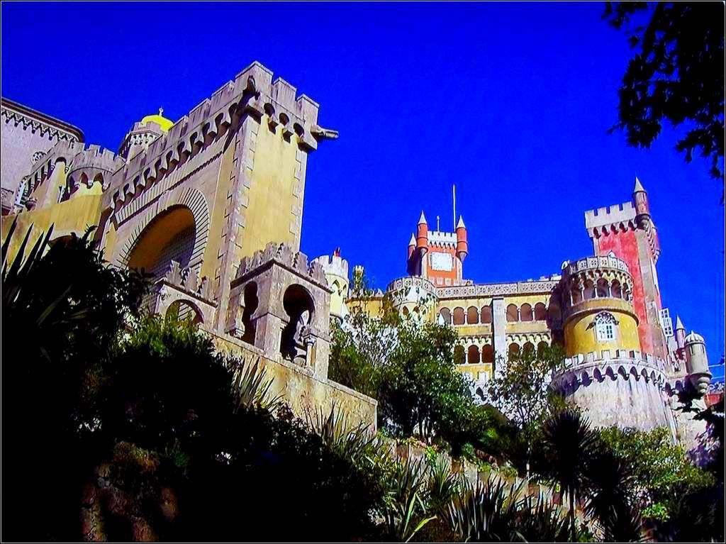 Portugal - Sintra - palais Pena