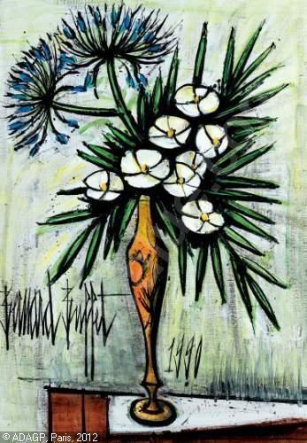 Les fleurs par les grands peintres 7 balades comtoises for Buffet bernard