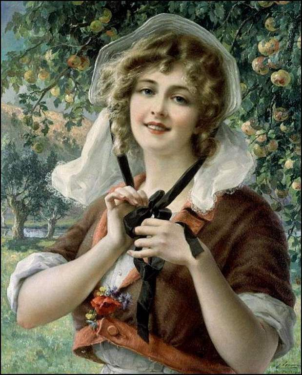 Femmes à chapeau par les grands peintres (195)