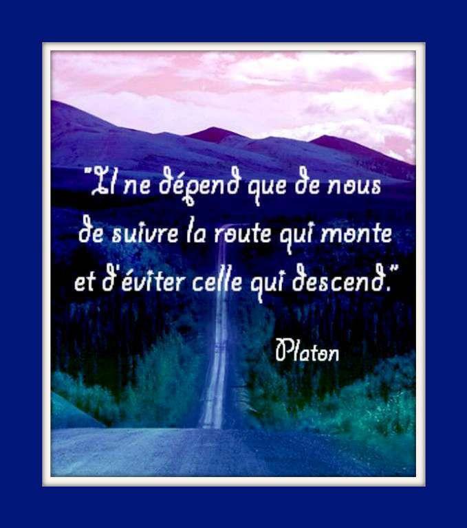 Citation &quot&#x3B;route&quot&#x3B; de Platon