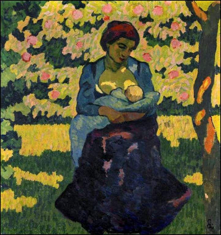 Mère et enfant par les grands peintres