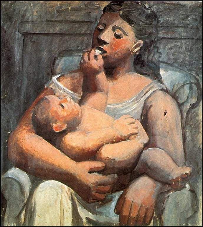 mere et enfant par les grands peintres - Balades comtoises