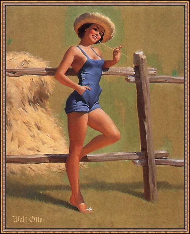 Femmes et chapeau par les grands peintres (204)