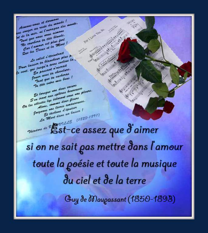 Citation &quot&#x3B;amour&quot&#x3B;
