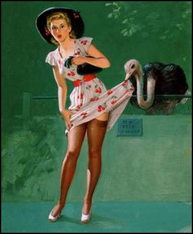 Femmes à chapeau par les grands peintres (238)