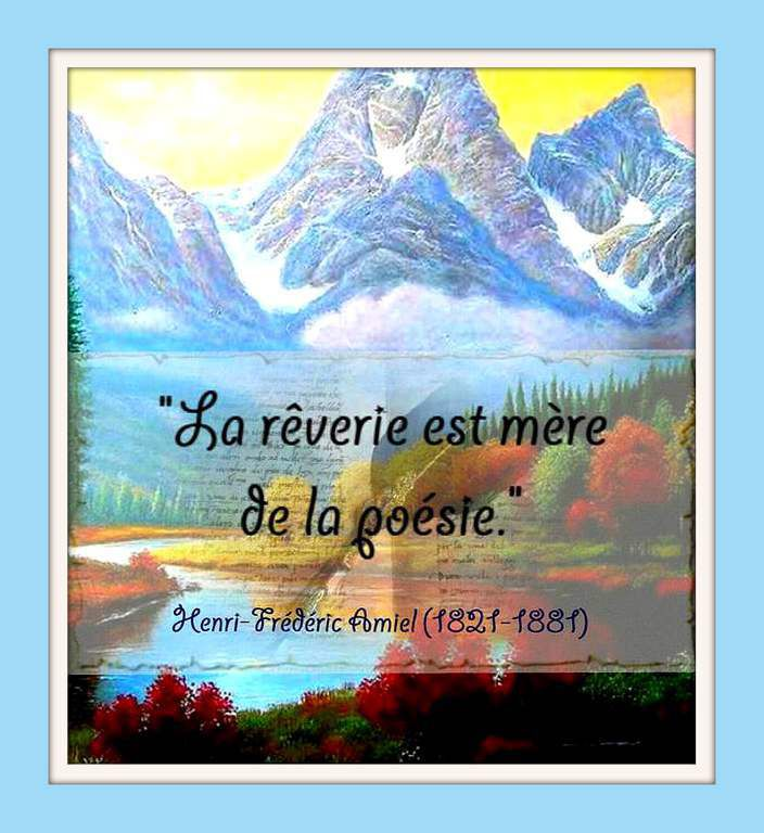 Citation &quot&#x3B;rêverie&quot&#x3B;