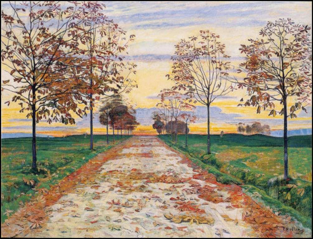 Soir d'automne 1892