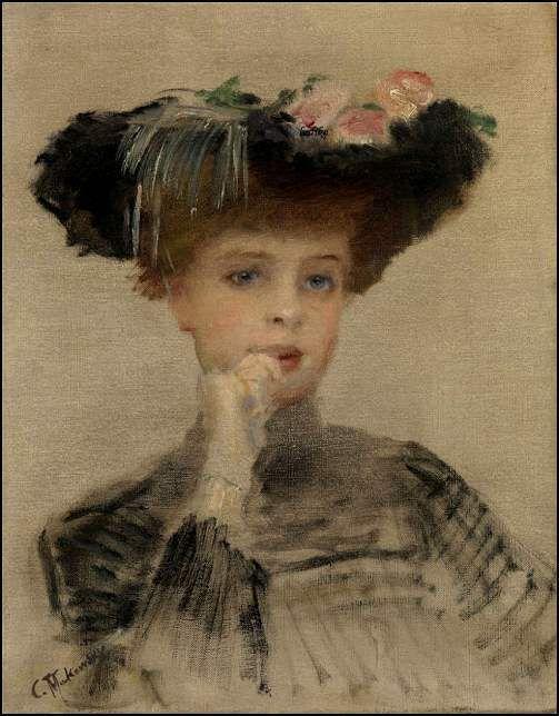 Femmes à chapeau par les grands peintres (250)