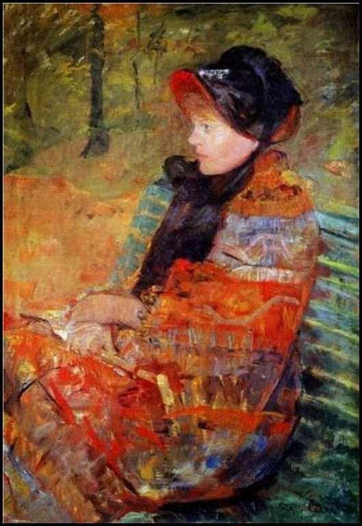 l'automne ou Portrait of Mlle C. Lydia Cassatt