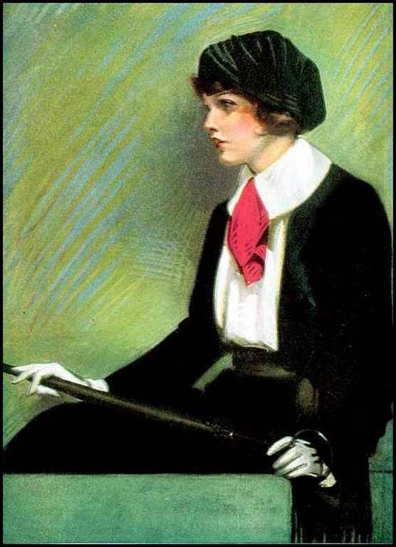 Femmes à chapeau par les grands peintres (259)