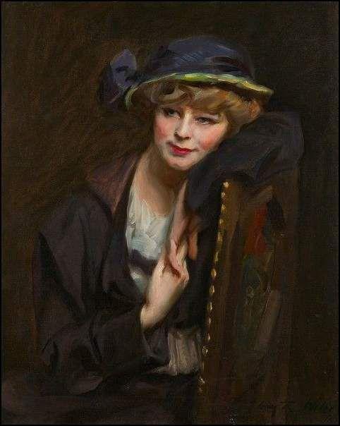 jeune lady à la mode