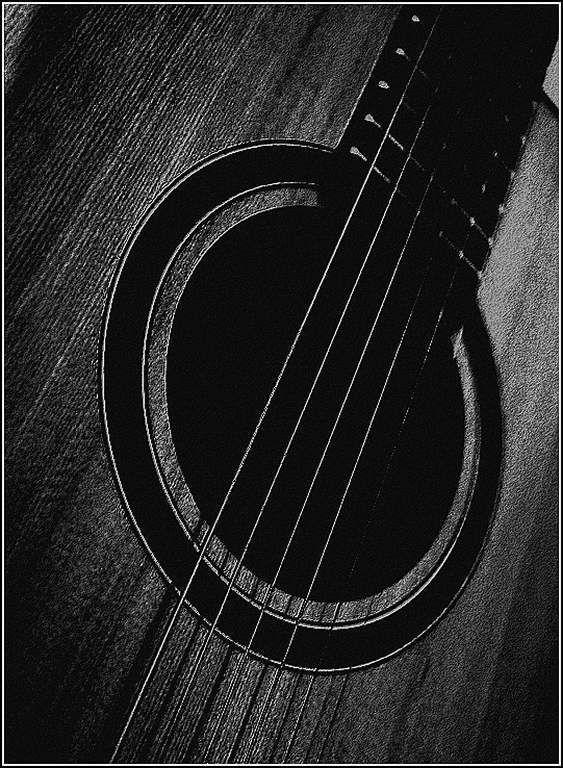 Musique en noir et blanc