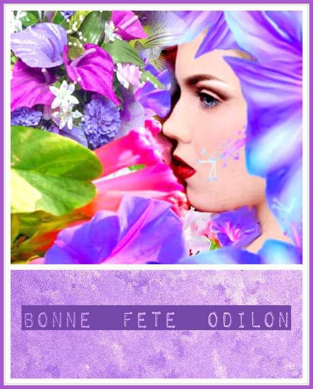 Bonne fete Odilon