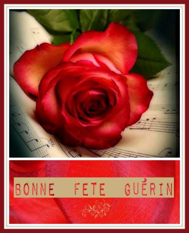 Bonne Fête Guérin