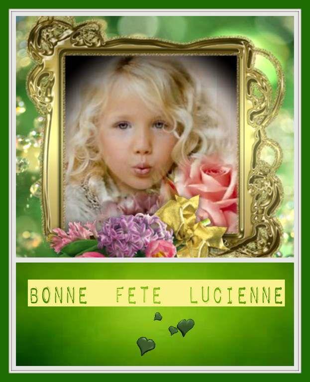 Bonne Fête Lucienne