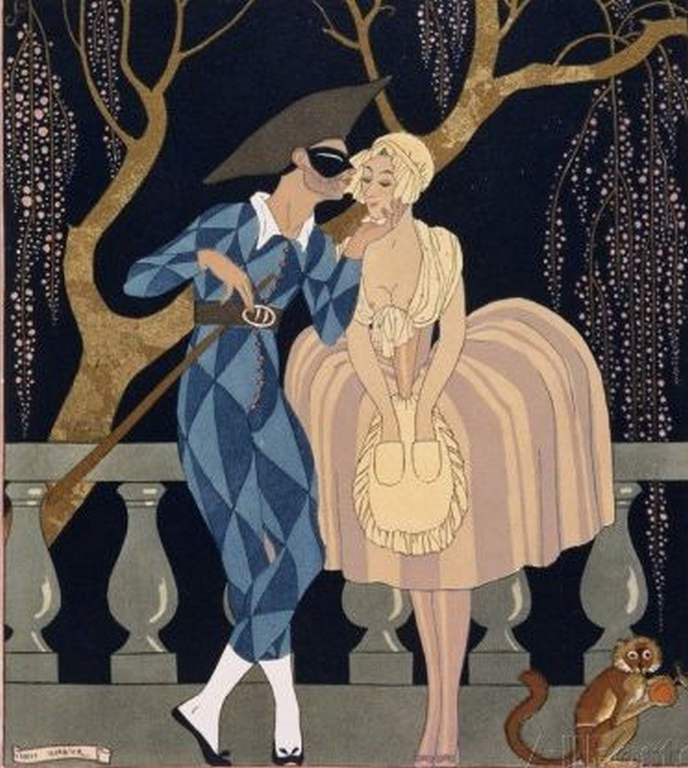 Le baiser d'Arlequin