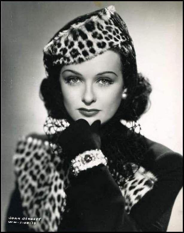 Joan Bennett (1910-1990) - actrice